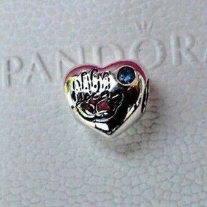 PANDORA Baby Boy Handprint Charm